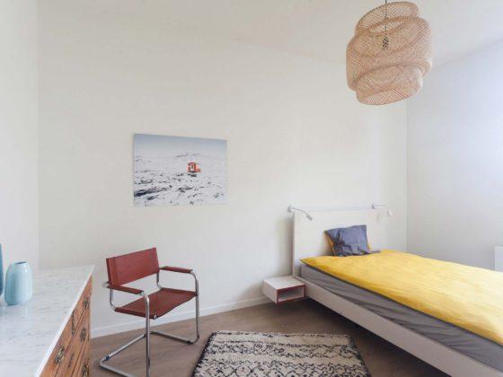 Chambre 1 personne maison Roomy Bruxelles Uccle