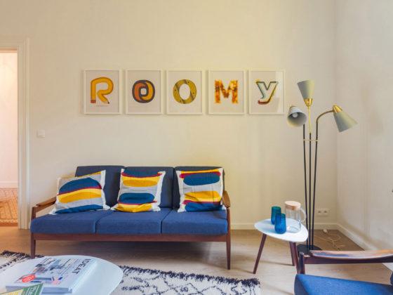 Salon maison Roomy Bruxelles Uccle (Parvis)