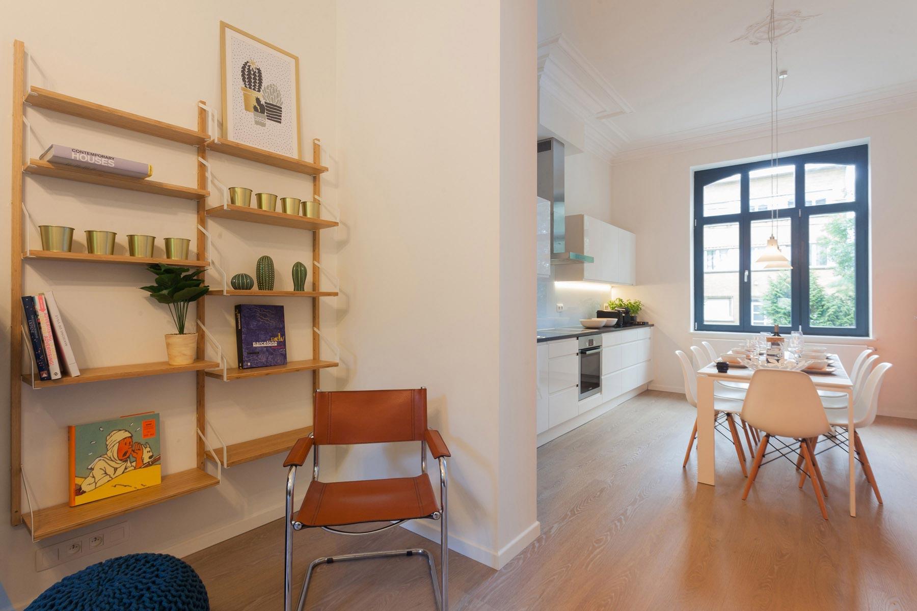 Living cuisine maison Uccle