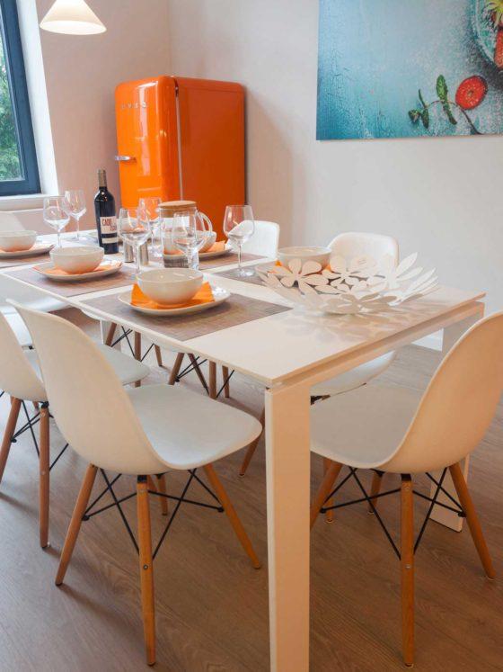 Salle à manger maison Roomy Bruxelles Uccle
