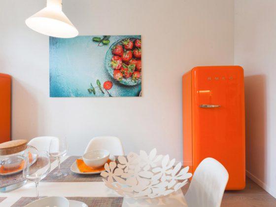 Salle à manger frigo SMEG