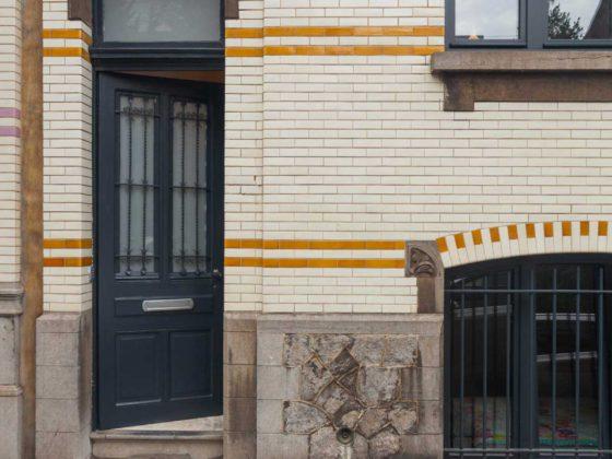 porte d'entrée maison Roomy uccle