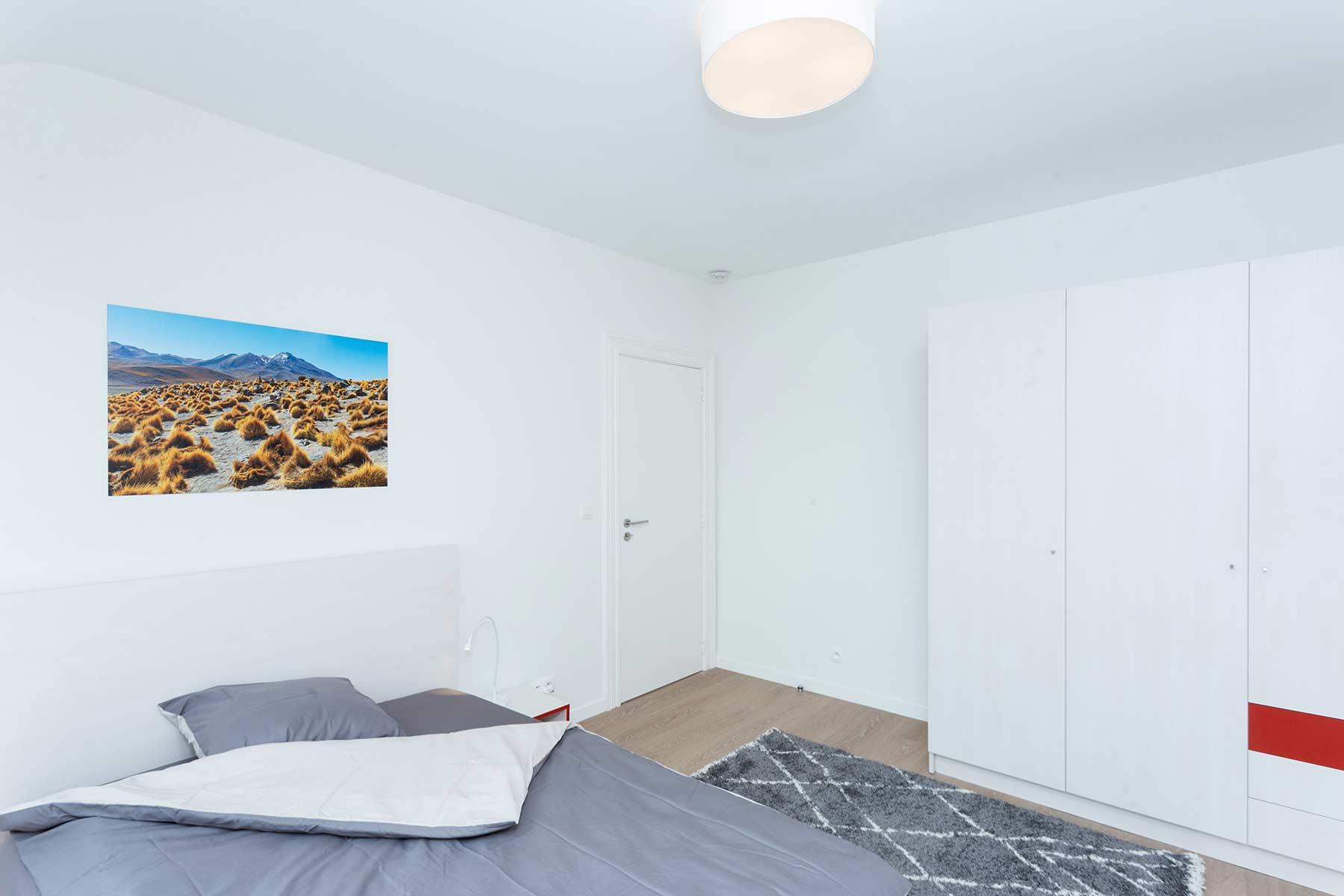 Chambre meublée 1 personne 2eme étage maison Roomy Bruxelles