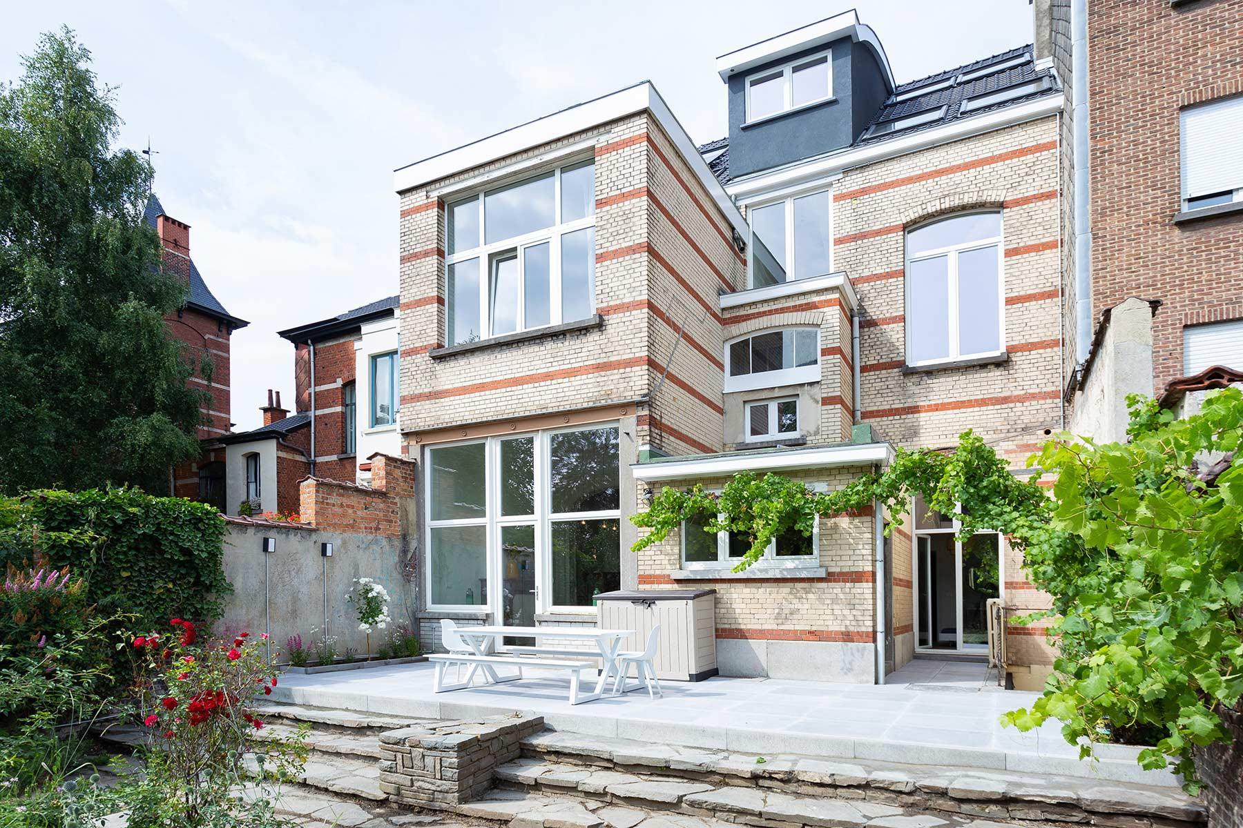 Terrasse Jardin maison Roomy Bruxelles