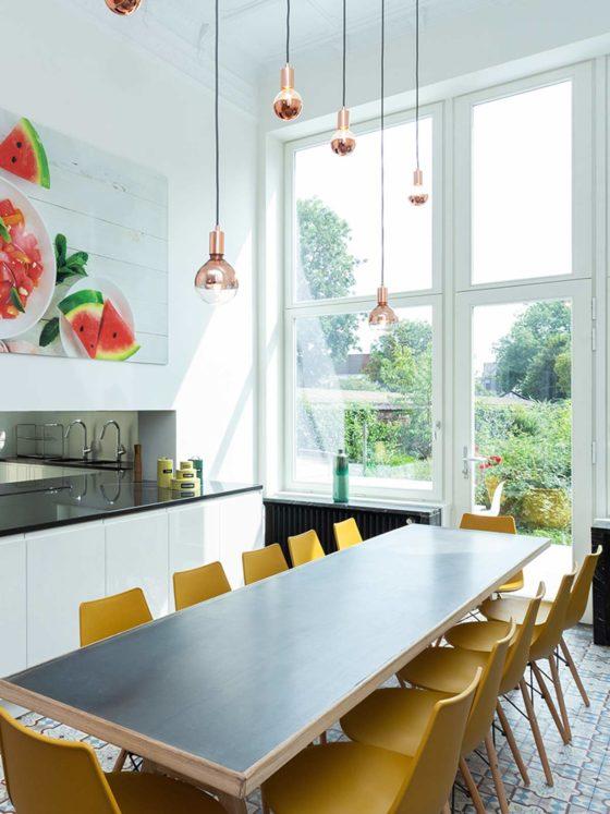 salle à manger cuisine maison Roomy Bruxelles